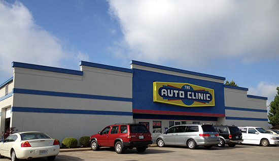The Auto Clinic store front Lee's Summit, MO